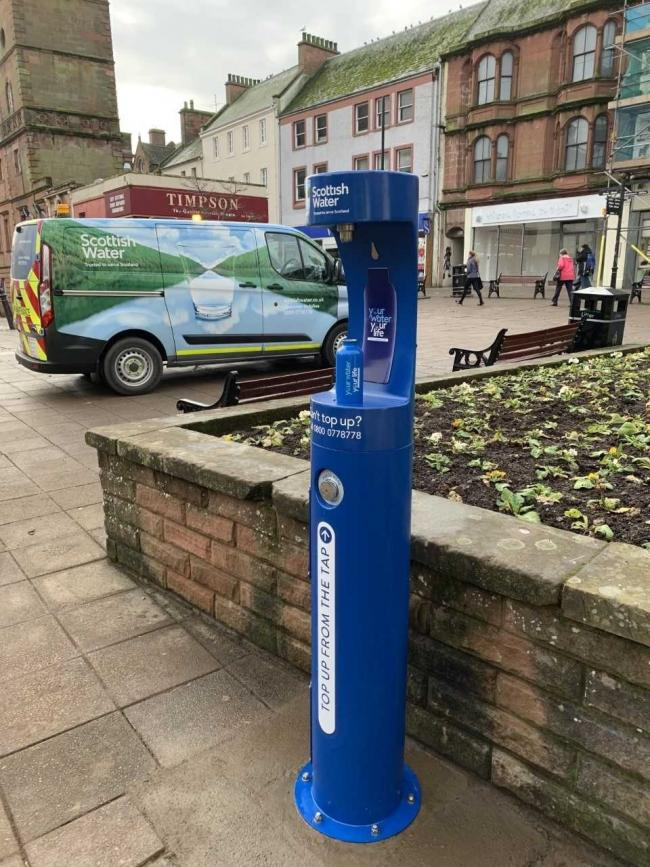 A top-up tap in Dumfries, similar to the one proposed for North Berwick