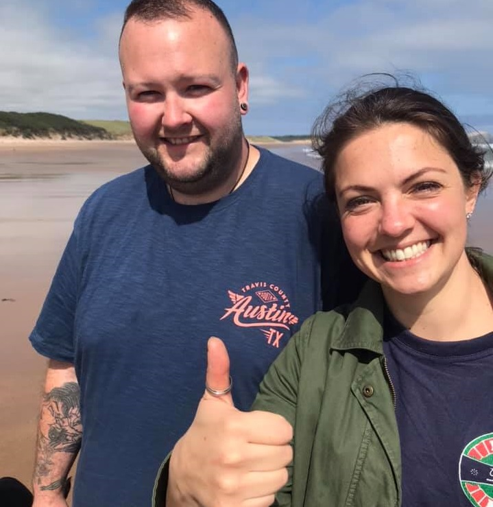 Metal detecting fan hailed a hero for finding wedding ring that fell into the sea