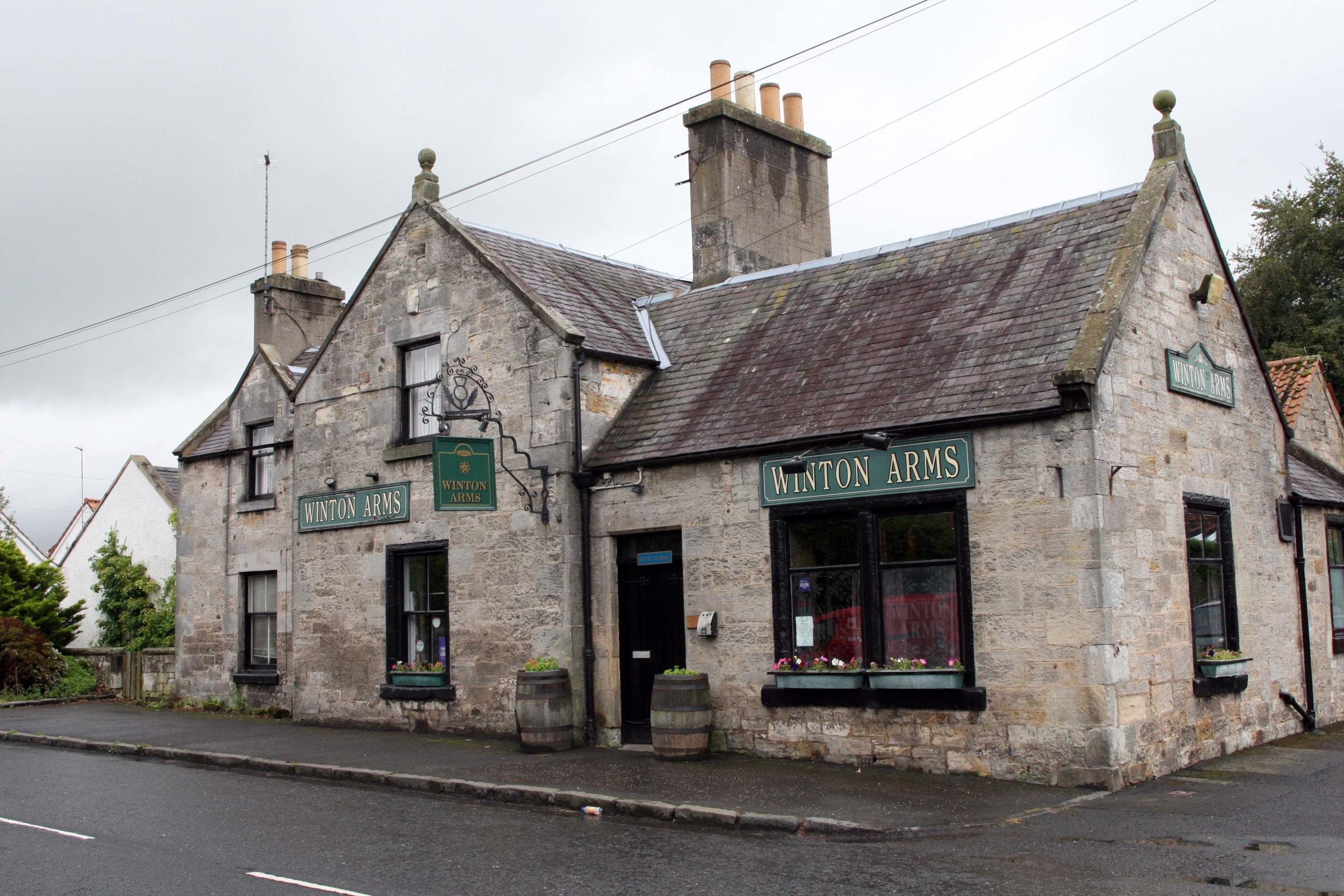 Pencaitland pub The Winton Arms up for sale