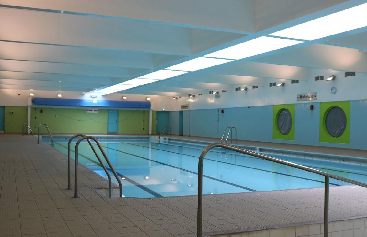 First look at Haddington\'s newly refurbished swimming pool ...