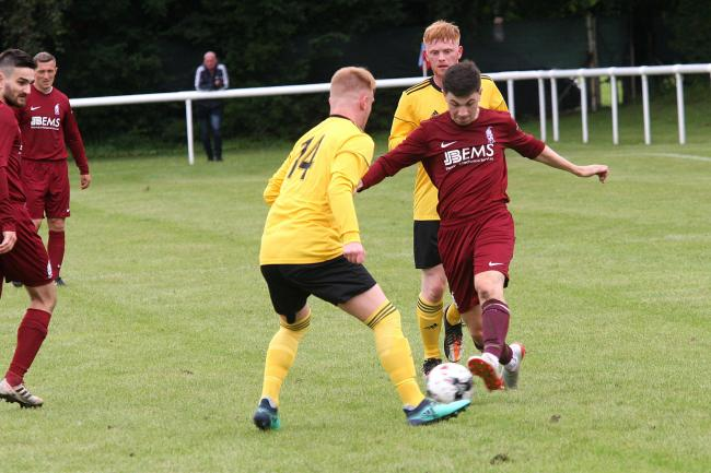 Haddington put four past Peebles Rovers on Saturday (pictured) but picked up a draw at home to Lothian Thistle Hutchison Vale on Wednesday