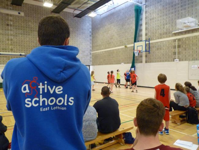Active Schools East Lothian has seen its anti poverty initiative taken up