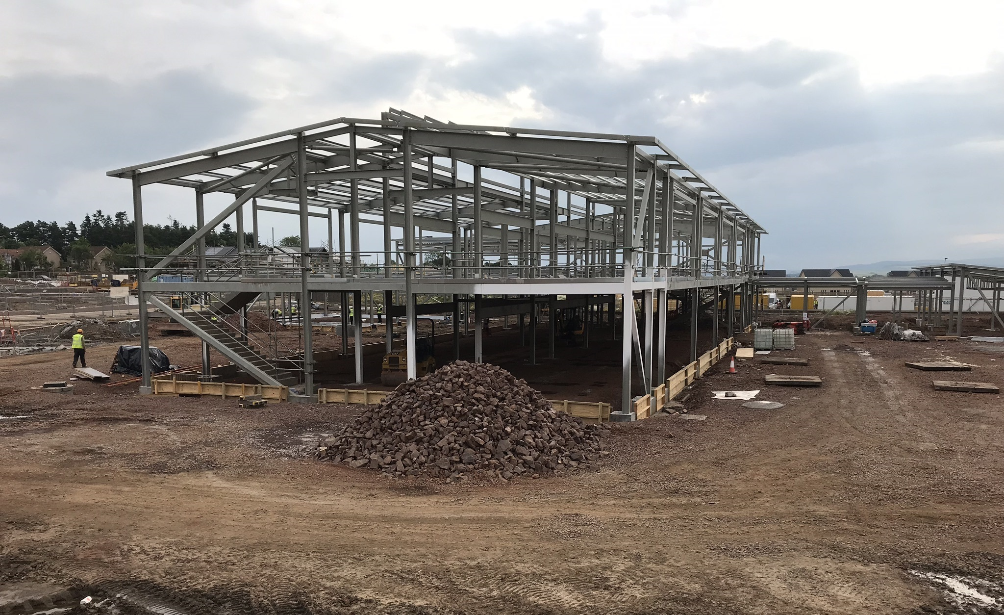 Milestone reached ahead of Letham Mains Primary School opening next year