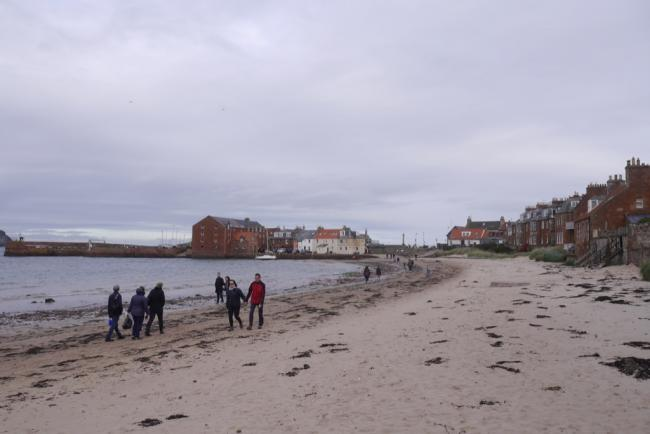 North Berwick's West Beach. Copyright Richard Webb and licensed for reuse under this Creative Commons Licence.
