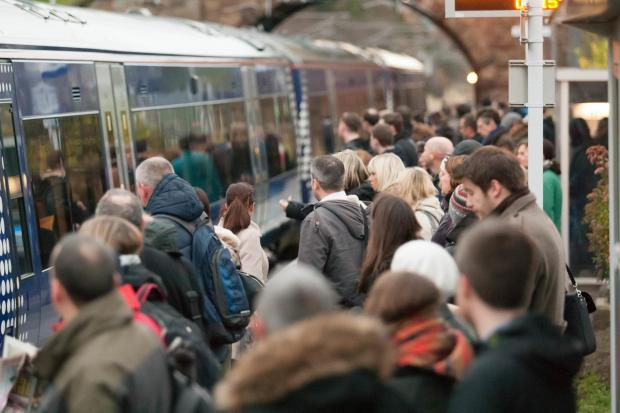 Overcrowding is a frequent issue on peak-time trains in East Lothian
