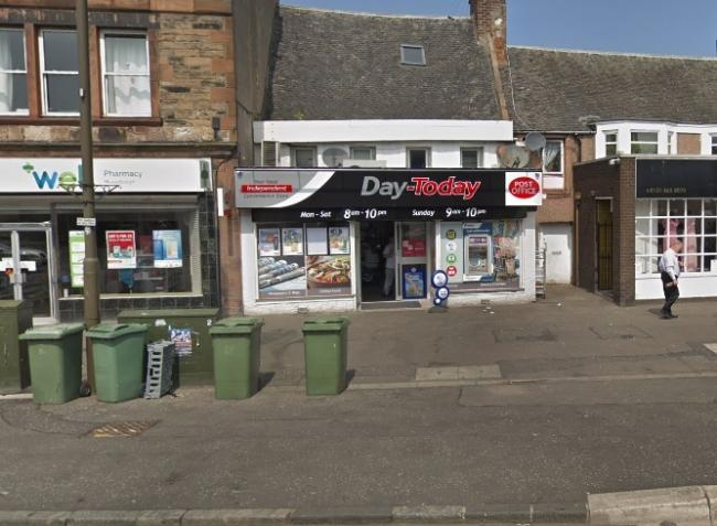 The incident took place outside the Day-Today on North High Street, Musselburgh. Image Google Maps