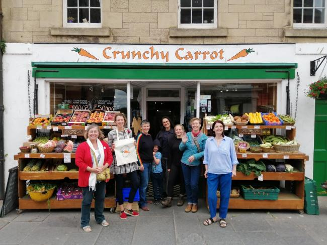 A community bid to take on the Crunchy Carrot has received a massive boost