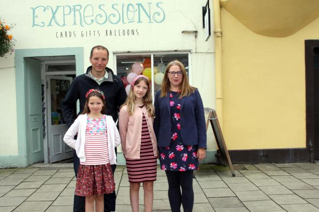 The Sear family - Teresa, Dan and daughters Abi and Beth - are looking forward to a dream holiday