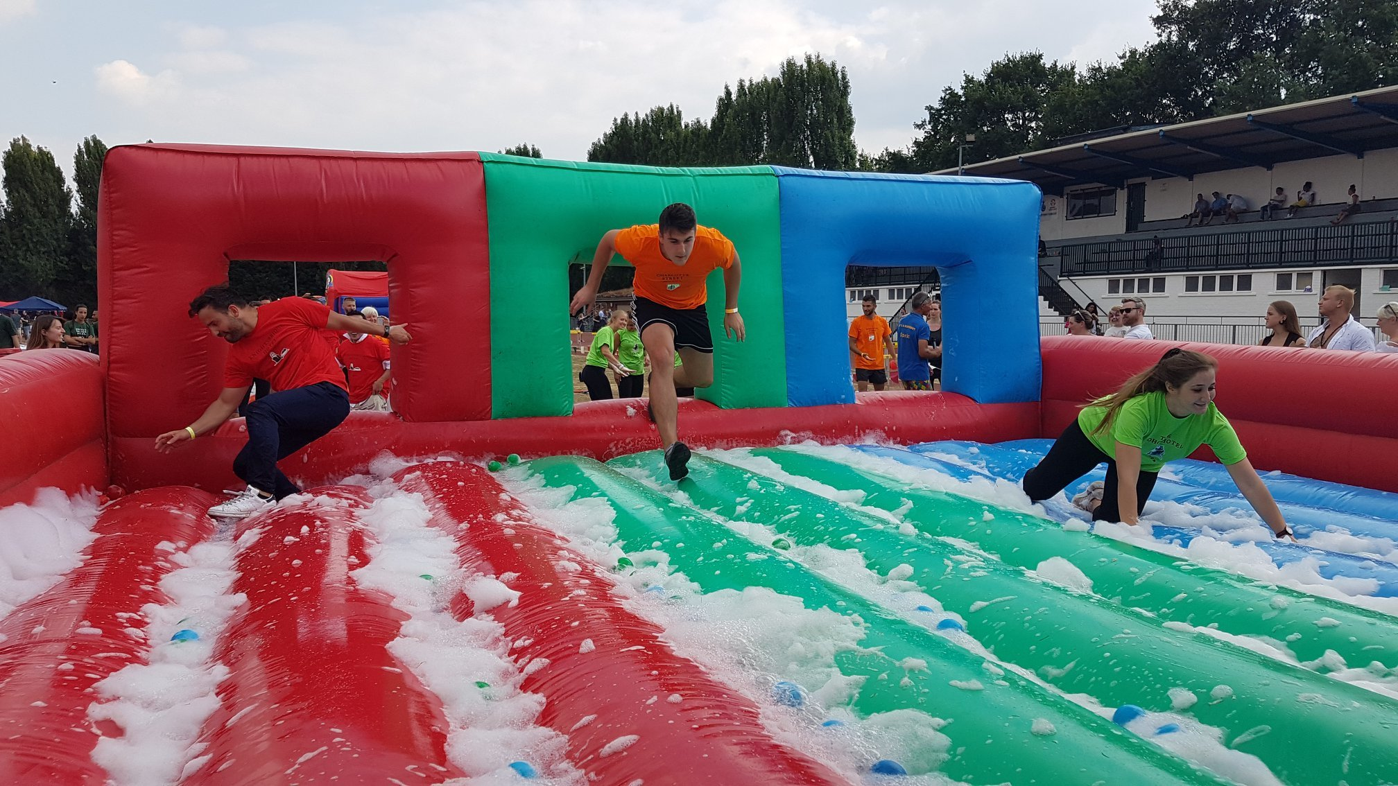 It's a Knockout event coming to Leuchie House
