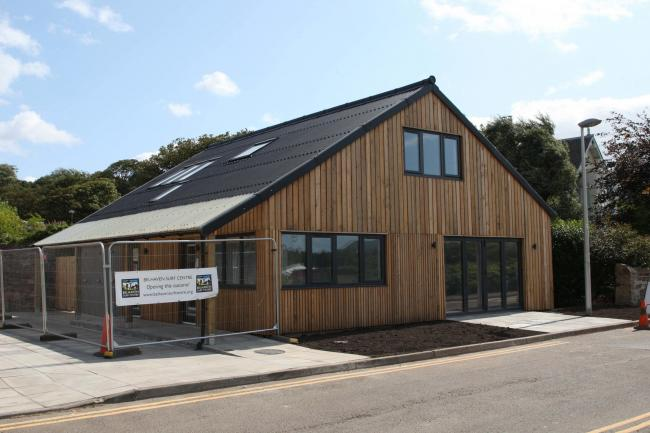 Work at a new surf centre in Belhaven is nearly complete