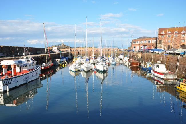 North Berwick Harbour. Pic: North Berwick Harbour Trust Association