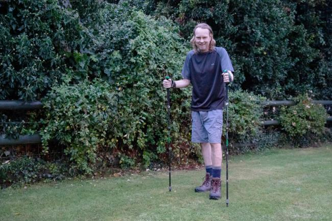 Cancer patient takes on 'Britain's hardest walk' after weeks
