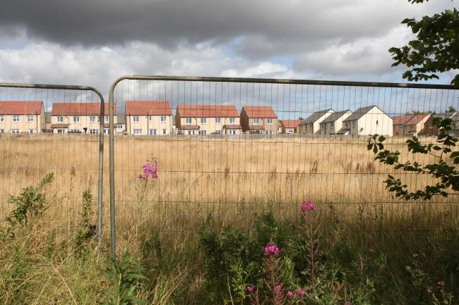Concerns have been raised about the possibility of a builders' merchants being built near homes at Gateside in Haddington