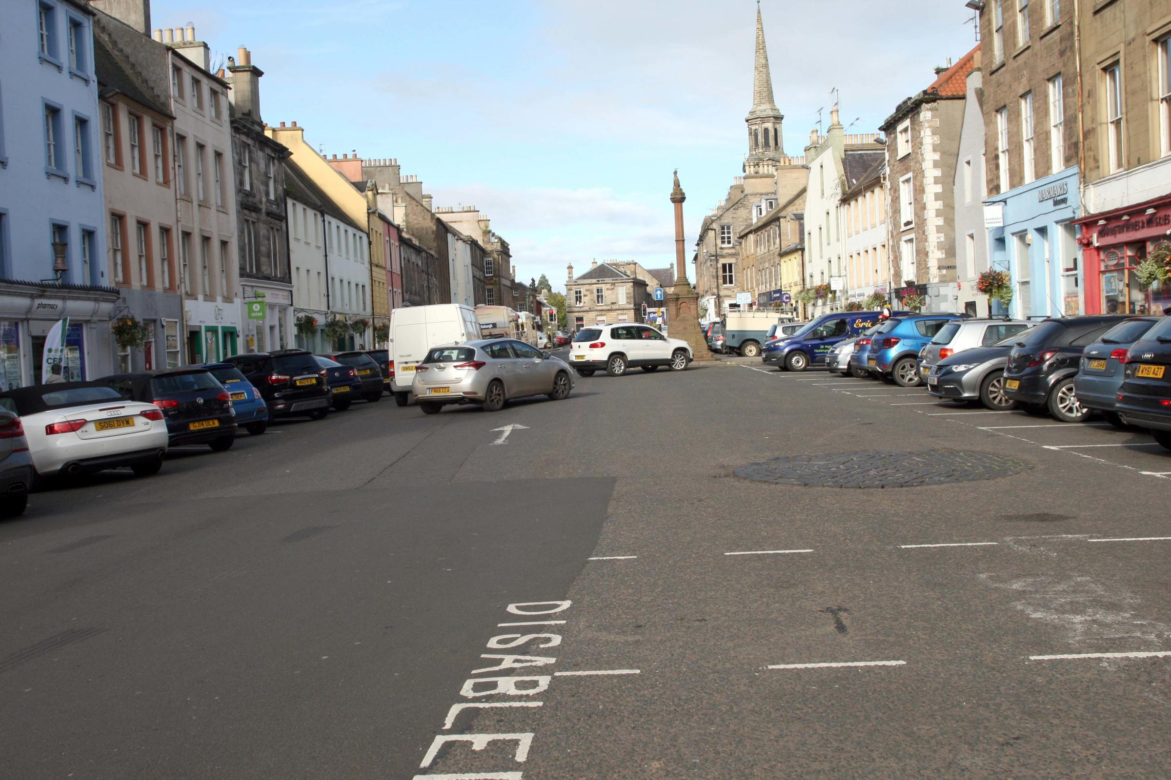 Discussions under way for Haddington town centre parking revamp
