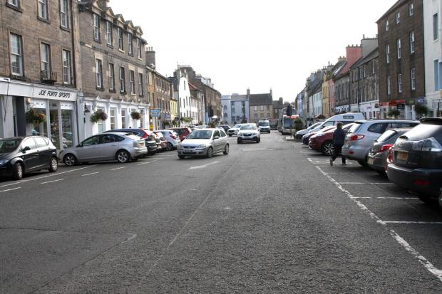 Proposed changes to Haddington's town centre have been met with concern by traders