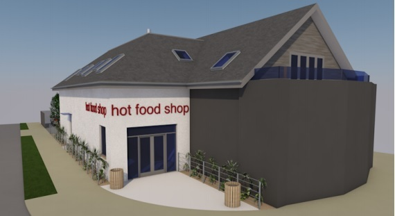 Flats and takeaway planned in Nisa Loco shop redevelopment