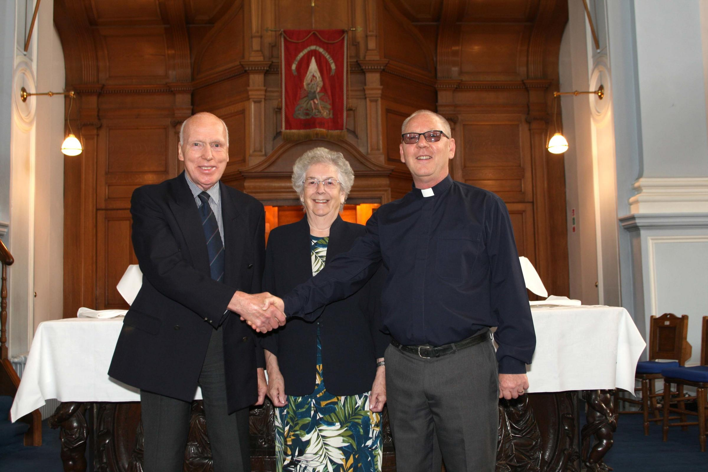 Church session clerk steps down after 12 years' service