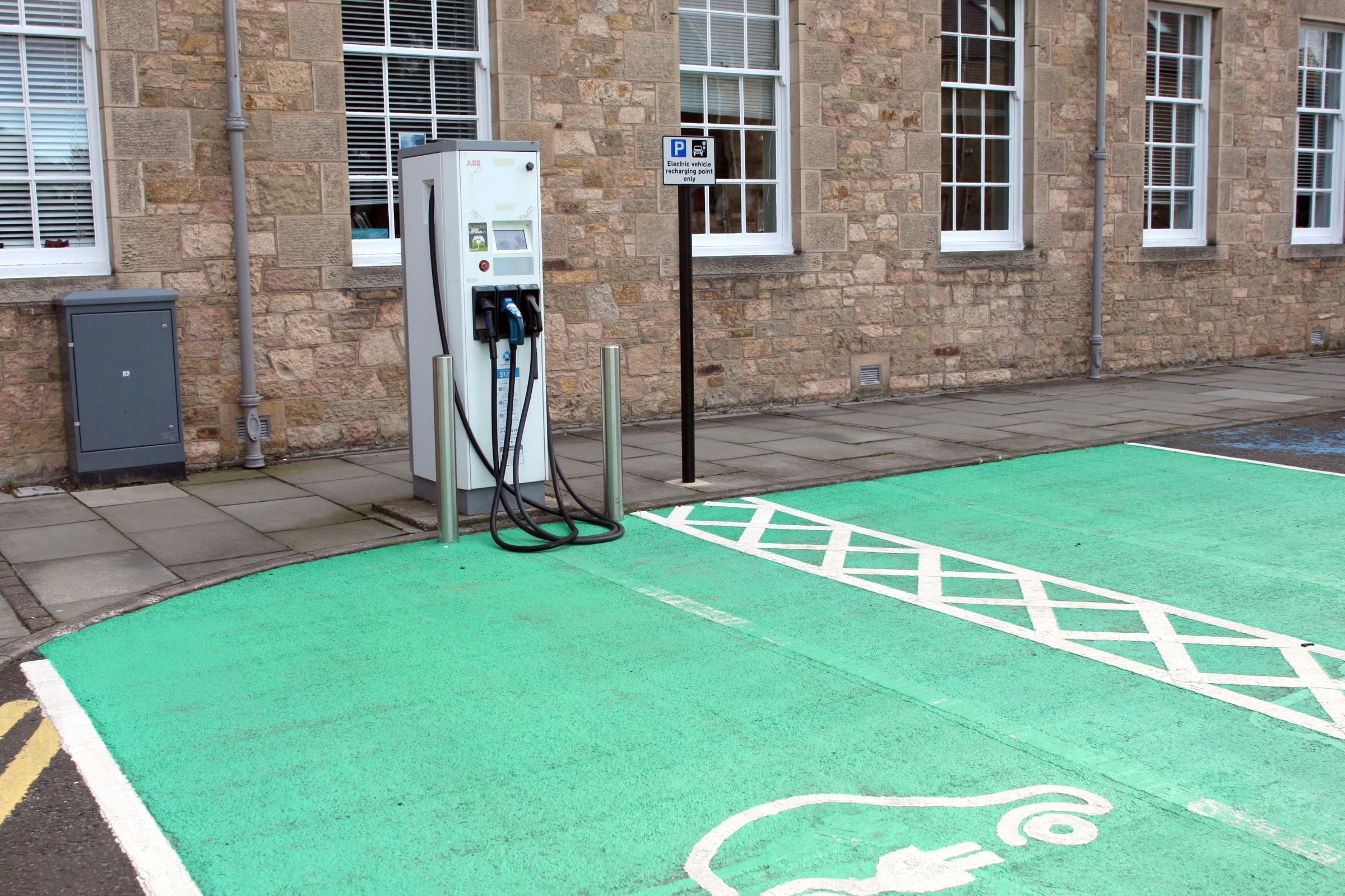 Electric car users to pay to use council-owned charging points
