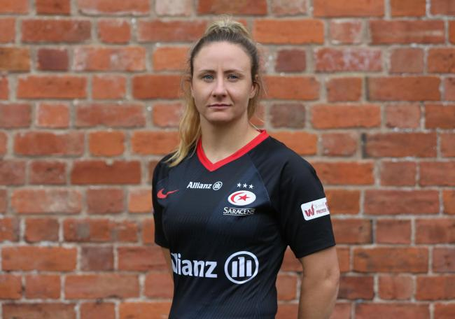 Sarah McKenna is keen for Saracens to retain the Tyrrells Premier 15 title