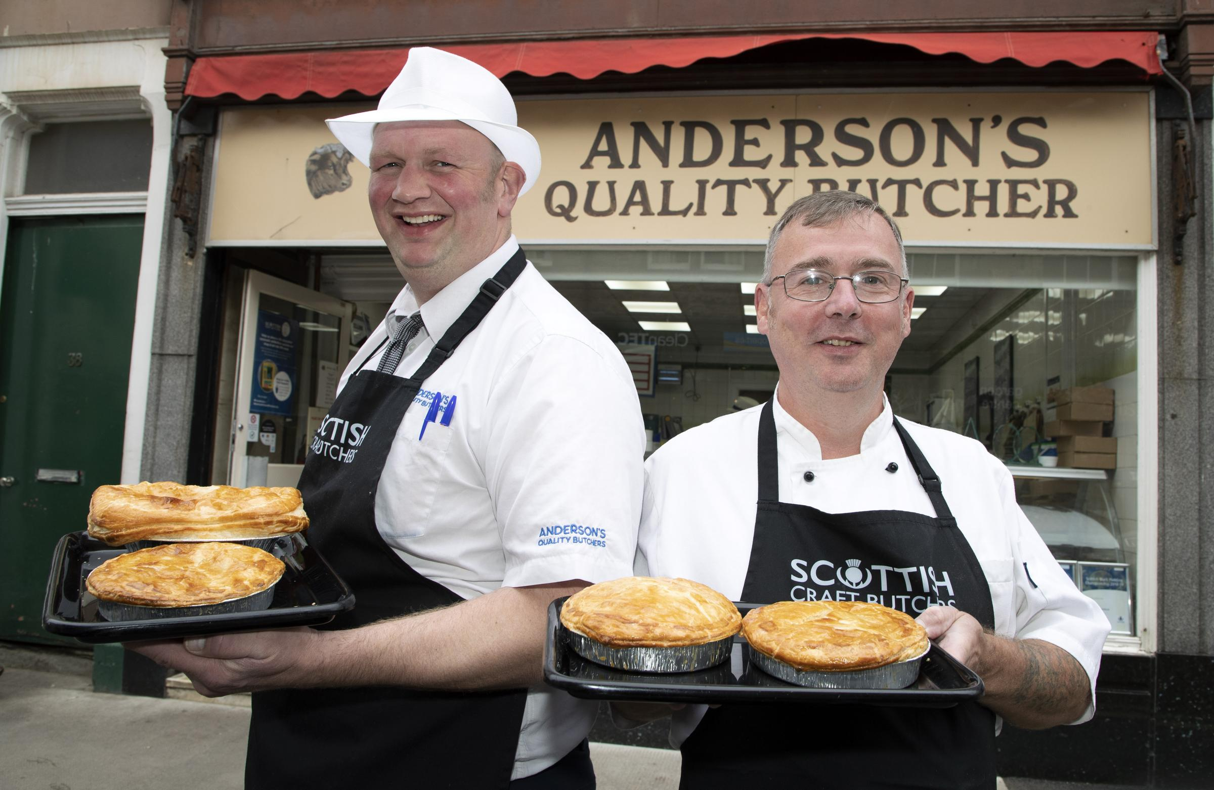North Berwick butchers' venison pie named the best in Scotland