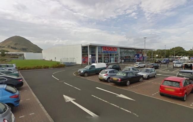 North Berwick Tesco. Image Google Maps