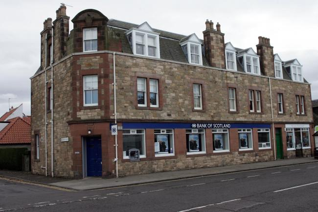 Gullane's Bank of Scotland closed in 2017