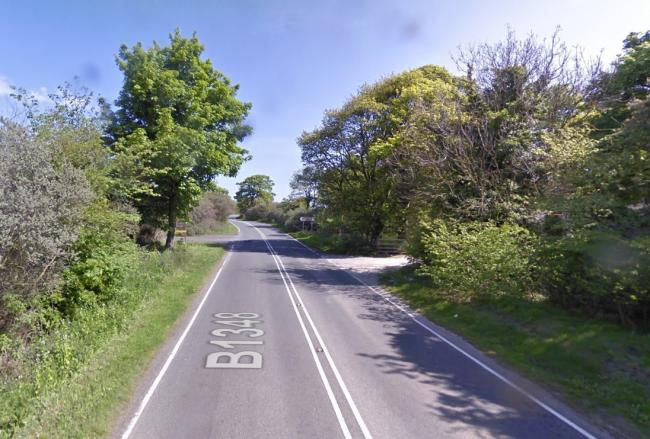 There are concerns over speeding on the coastal road between Port Seton and Longniddry. Image Google Maps
