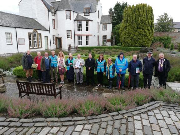 Britain in Bloom judges visited Haddington in August