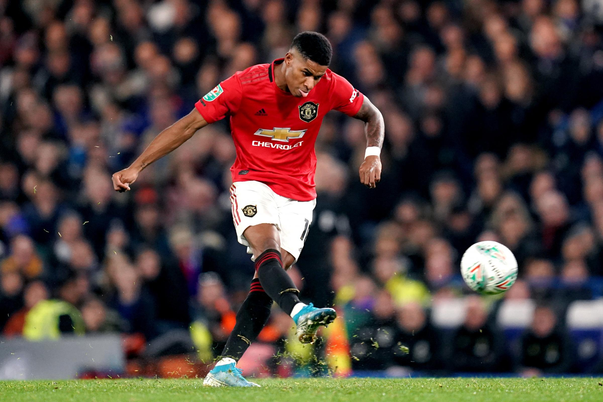 Superb Marcus Rashford Free Kick Sends Manchester United Through East Lothian Courier