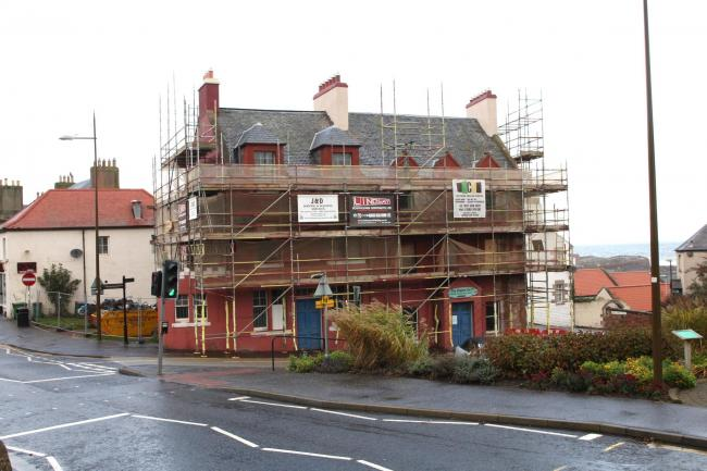 Solar panels will be installed at the former Dolphin Hotel in Dunbar