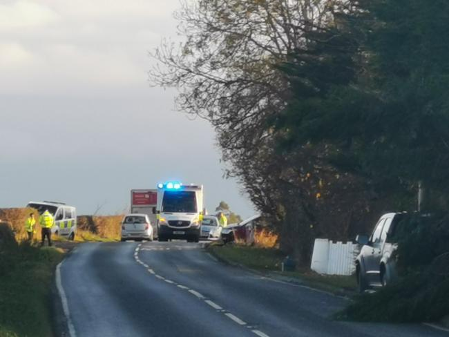 The incidents both happened just after 8am between Jerusalem and Samuelston on the A6093