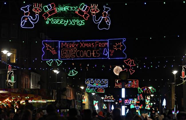 Dunbar Christmas lights have for many years been a great addition to High Street and this year's display is set to be spectacular once more, with plenty of fun on offer on the day in the lead-up to the switch-on itself