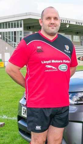 Kieran Cooney, the new Haddington head coach, here pictured during his time at Kelso