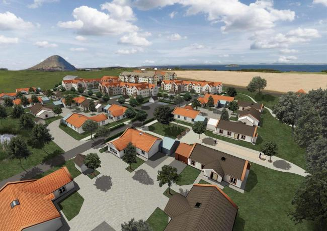 Proposals for a retirement village on the outskirts of North Berwick are now with East Lothian Council