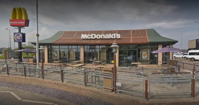 McDonald's at Fort Kinnaird. Image Google Maps