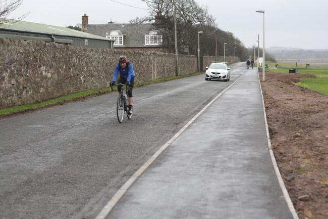 Cars are travelling at more than 60 miles per hour on Dunbar's Back Road, according to a community councillor