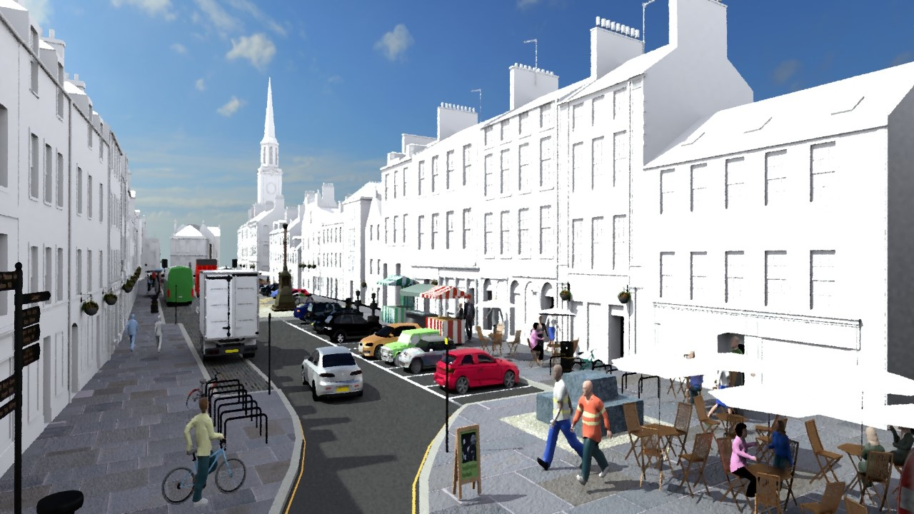 Fresh protest as latest Haddington parking plans are revealed