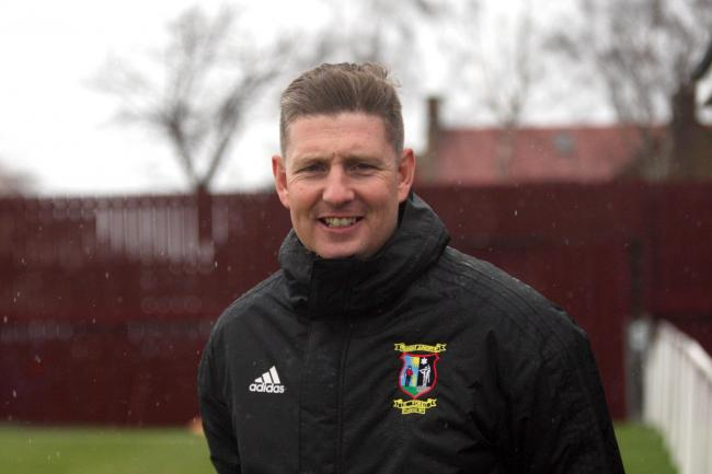 Johnny Harvey has left Tranent Juniors after just a handful of games in charge