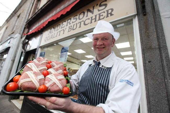 Andersons Quality Butchers in North Berwick were among those celebrating at recent awards
