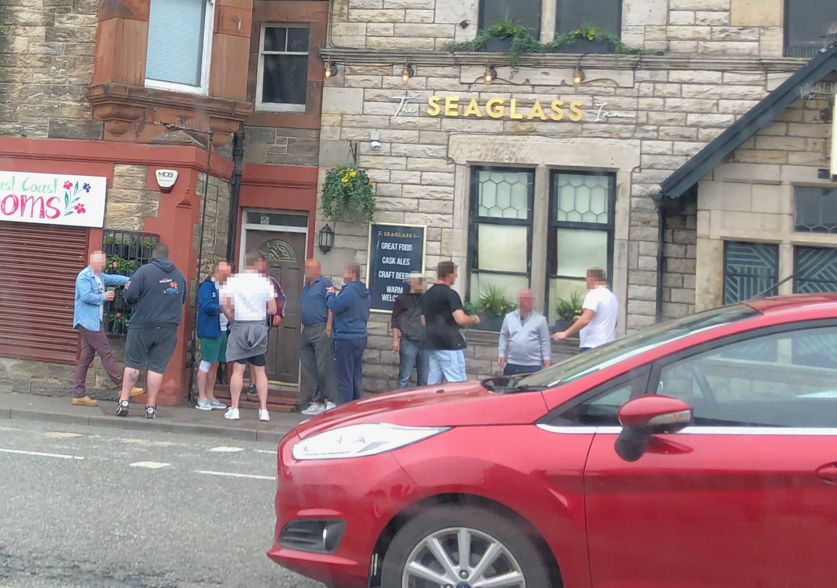 Letter: Pub boss defends punters accused of flouting lockdown restrictions