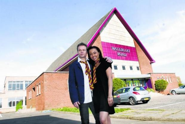 East Lothian Courier: Waterloo Road was filmed in the old Greenock Academy from 2011 to 2015