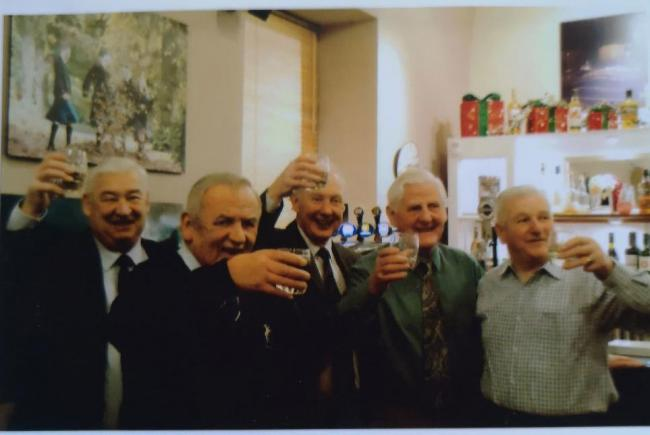 A legendary group of Haddington RFC supporters have been recognised