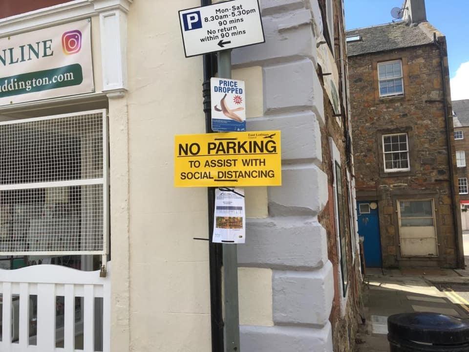 Parking signs spark concern for traders