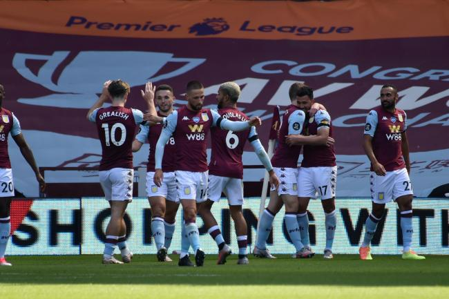 Aston Villa snared a survival lifeline