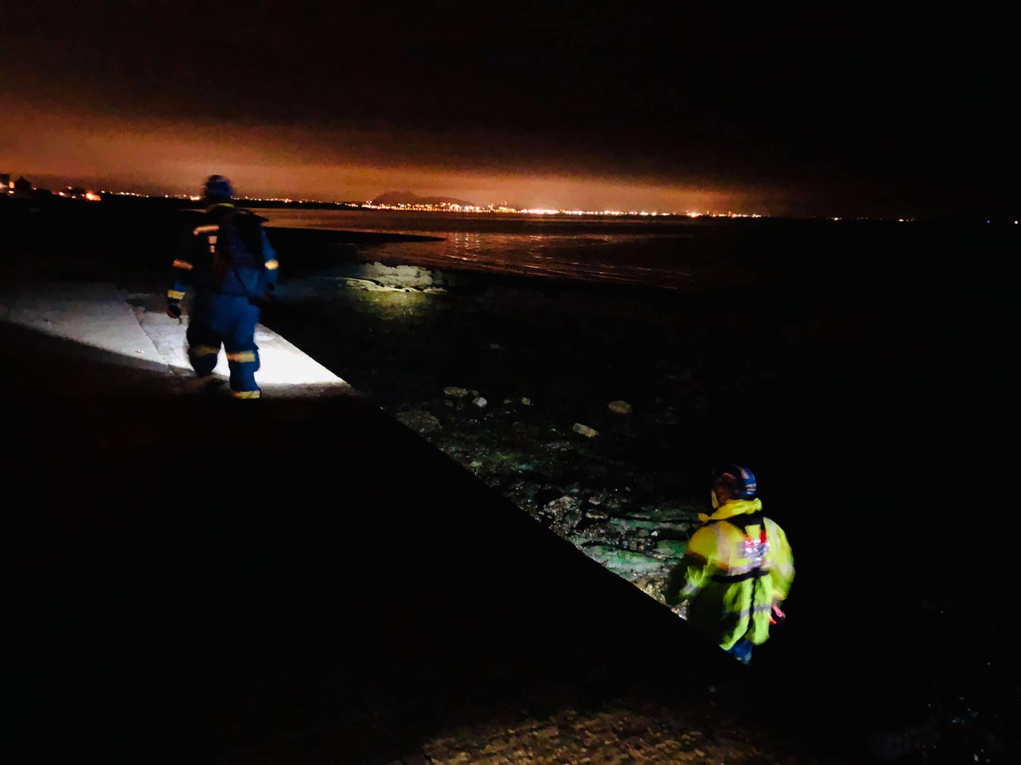 Several coastguard and lifeboat crews called to Cockenzie in mass search and rescue mission