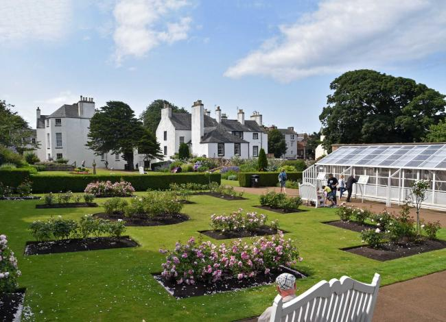 The Lodge Grounds. Image: Ian Goodall, North Berwick Photographic Society