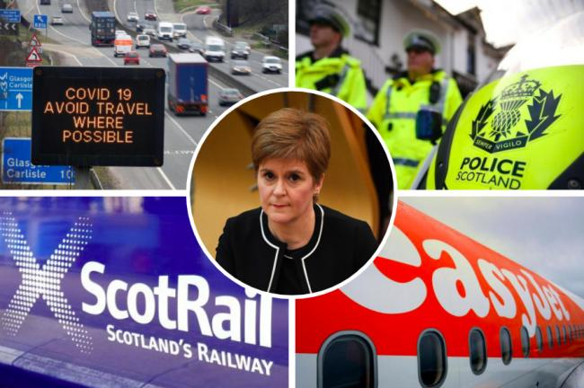 Explained: What are the travel restrictions that come into force today in Scotland?