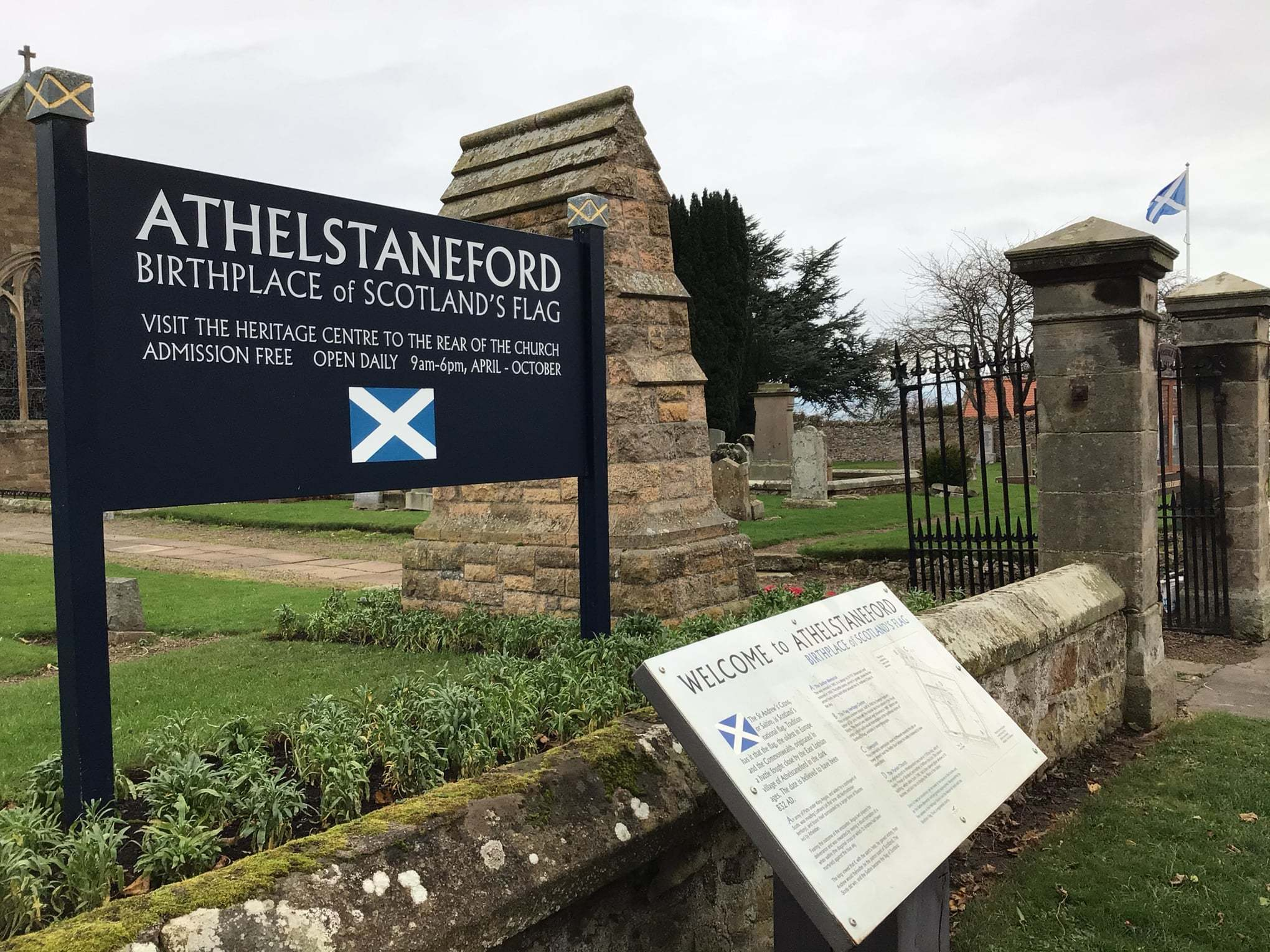 Tim's Tales: St Andrew, the Saltire and the Battle of Athelstaneford