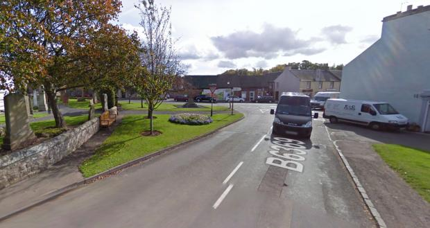 East Lothian Courier: Gifford, part of Haddington Rural. Image Google Maps