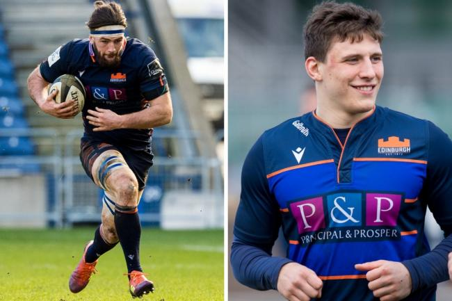 Ally Miller (left) and Rory Darge are swapping Edinburgh Rugby for Glasgow Warriors. Pictures: SNS Group/Edinburgh Rugby